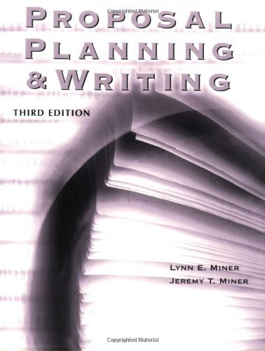 9781573564984: Proposal Planning & Writing, 3rd Edition (Grantselect)