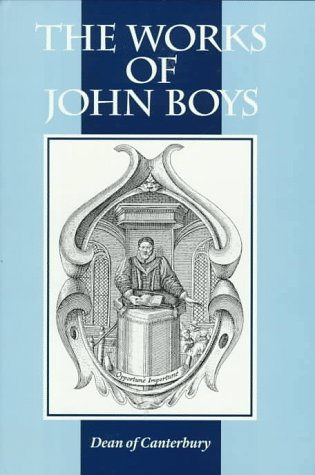 9781573580540: The Works of John Boys (Puritan Writings)