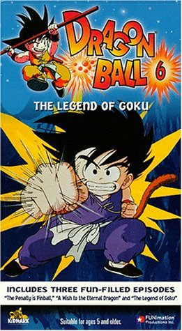 9781573623926: Dragon Ball - The Legend of Goku (Vol. 6)(Episodes 11 -13) [VHS]