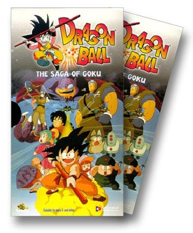 9781573623995: Dragon Ball Box Set - The Saga of Goku [VHS]