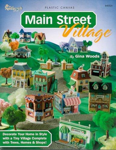 Main Street Village: Plastic Canvas