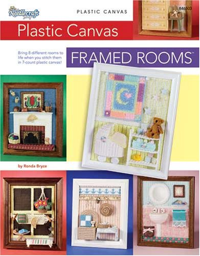 9781573672207: Plastic Canvas Framed Rooms 846503