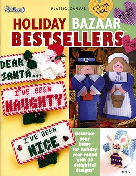 PLASTIC CANVAS} Holiday Bazaar Bestsellers {Plastic Designs}: Decorate Your Home for Holiday ...