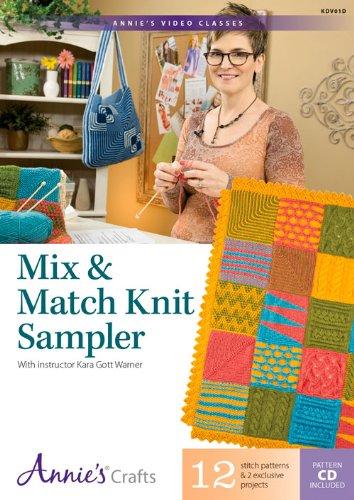9781573673891: Mix & Match Knit Sampler (Annie's Video Classics)