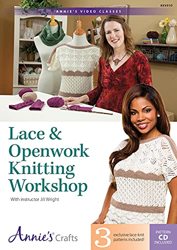 9781573673914: Lace & Openwork Knitting Workshop: With Instructor Jill Wright
