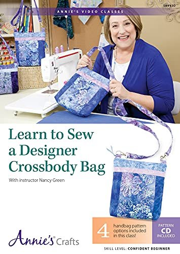 9781573674089: Learn to Sew a Designer Crossbody Bag: With Instructor Nancy Green