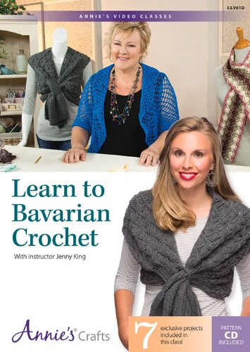 9781573674096: Learn to Bavarian Crochet: With Instructor Jenny King
