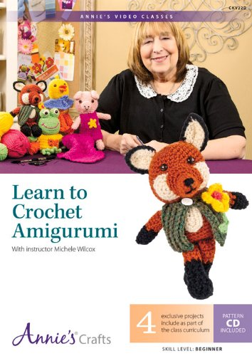 9781573674201: Learn to Crochet Amigurumi: With Instructor Michele Wilcox