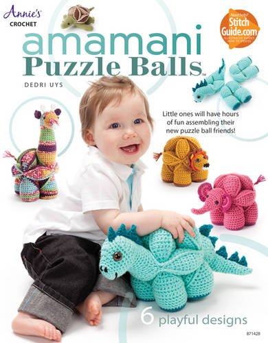 9781573675697: Amamani Puzzle Balls (Annie's Crochet)