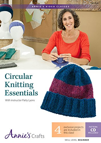 9781573676533: Circular Knitting Essentials: With Instructor Patty Lyons