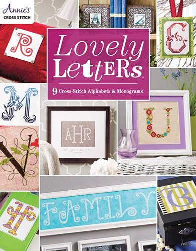 9781573676540: Lovely Letters: 9 Cross-Stitch Alphabets & Monograms