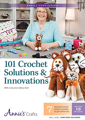 9781573678179: 101 Crochet Solutions & Innovations DVD: With Instructor Debra Arch