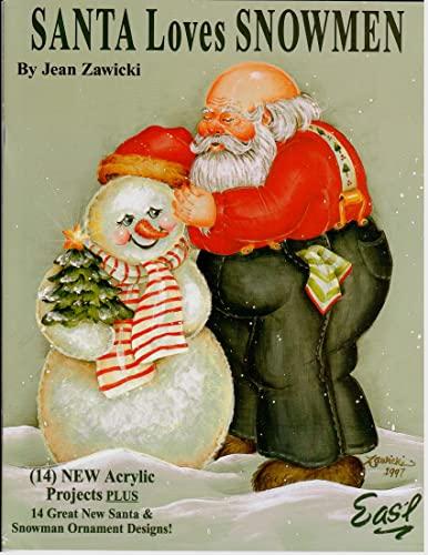 Santa Loves Snowmen (Spanish Edition): Jean Zawicki