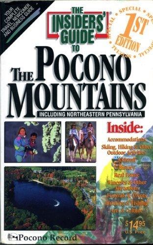 Pocono Mountains (Insiders' Guide to the Pocono Mountains): Hineline, Brian