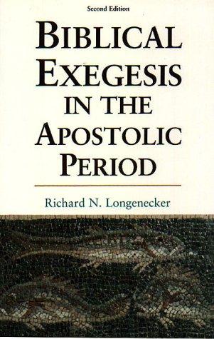 9781573830744: Biblical Exegesis in the Apostolic Period
