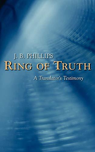 9781573833264: Ring of Truth: A Translator's Testimony