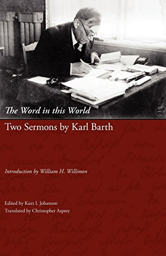 9781573834117: The Word in this World: Two Sermons