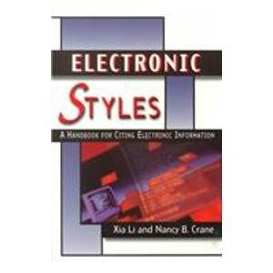 9781573870276: Electronic Styles: A Handbook for Citing Electronic Information