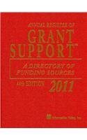 9781573873871: Annual Register of Grant Support 2011: A Directory of Funding Sources