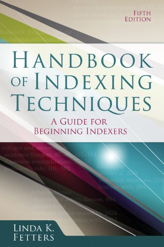9781573874618: Handbook of Indexing Techniques: A Guide for Beginning Indexers, Fifth Edition
