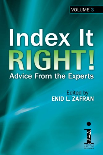 9781573875004: Index It Right! Advice From the Experts, Volume 3