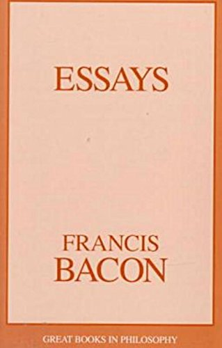 Essays (Great Books in Philosophy): Francis Bacon
