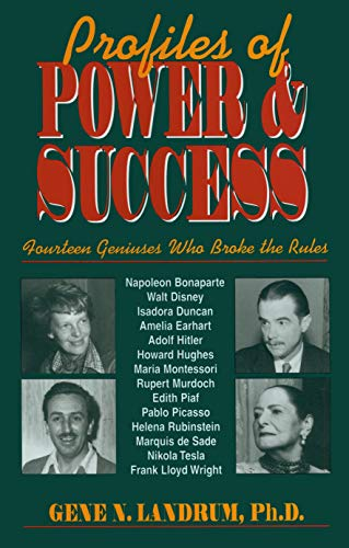 9781573920520: Profiles of Power and Success