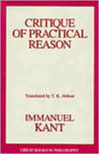 9781573920636: Critique of Practical Reason (Great Books in Philosophy)