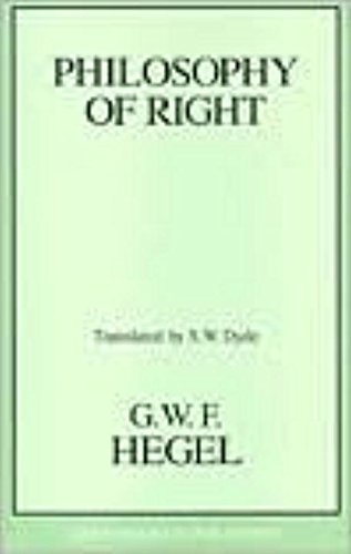 9781573921053: Philosophy of Right (Great Books in Philosophy)