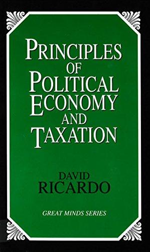 Principles of political economy and taxation.: Ricardo, David.