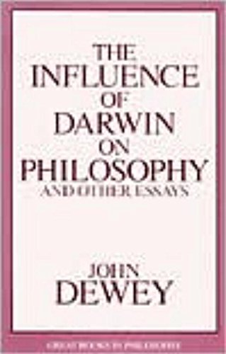 9781573921374: Influence of Darwin on Philosophy and Other Essays (Great Books in Philosophy)