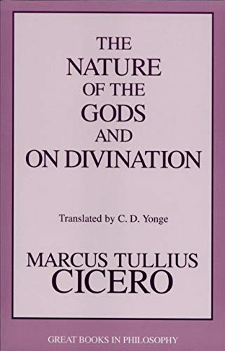 9781573921800: The Nature of the Gods and on Divination (Great Books in Philosophy)
