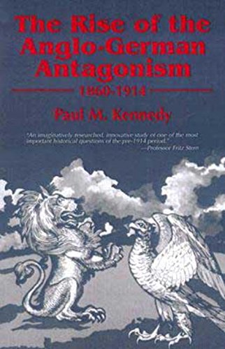 9781573923019: The Rise of Anglo-German Antagonism 1860-1914