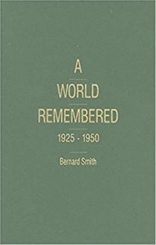 9781573923613: A World Remembered 1925-1950 (Historical Memories)