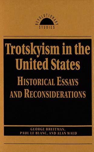 Trotskyism in the United States (Revolutionary Studies): George Breitman