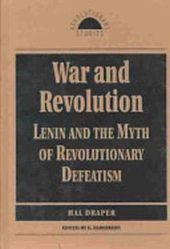 9781573923903: War and Revolution (Revolutionary Studies)