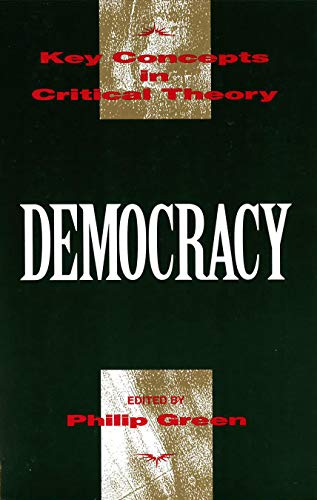 9781573925501: Democracy: Key Concepts in Critical Theory