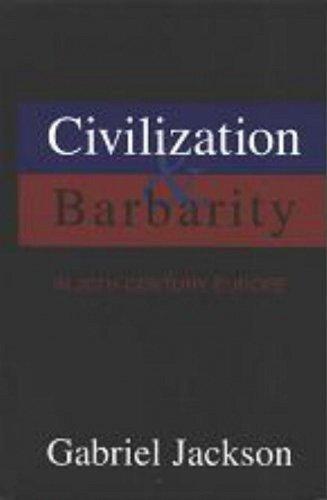 9781573926454: Civilization & Barbarity in 20th Century Europe