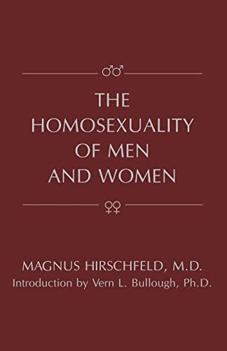 9781573927055: The Homosexuality of Men and Women