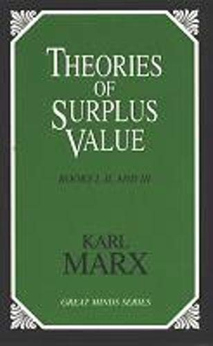 Theories of Surplus Value (Great Minds): Karl Marx