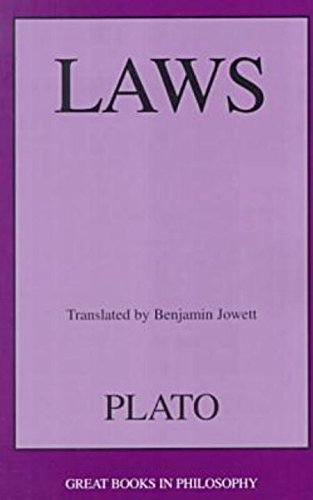 9781573927994: Laws: Plato (Great Books in Philosophy)
