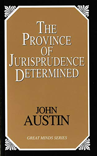 9781573928458: The Province of Jurisprudence Determined (Great Minds)