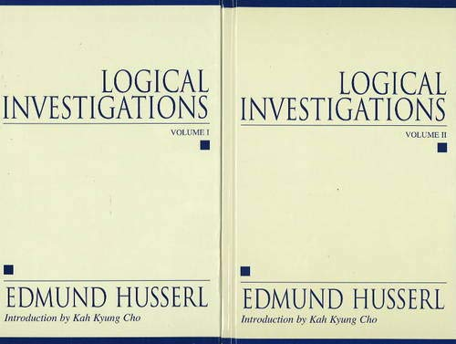 9781573928663: Logical Investigations, 2 Volume-Set