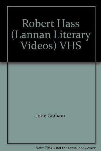 Robert Hass (Lannan Literary Videos) VHS: Jorie Graham