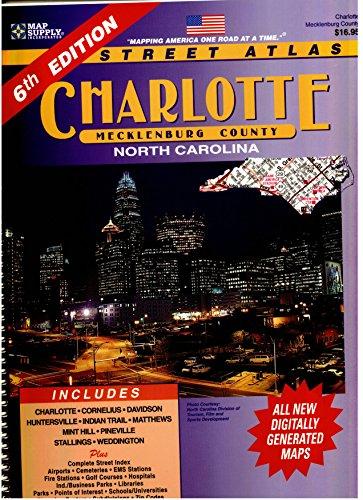 Charlotte Street Atlas: Map Supply Inc.