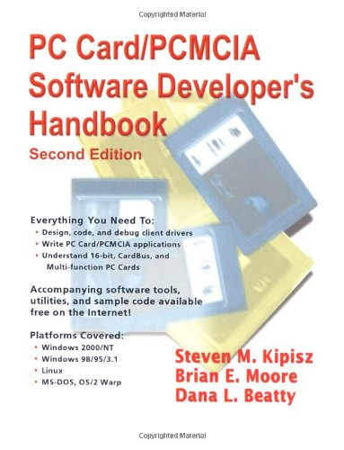 9781573980159: PC Card/PCMCIA Software Developer's Handbook