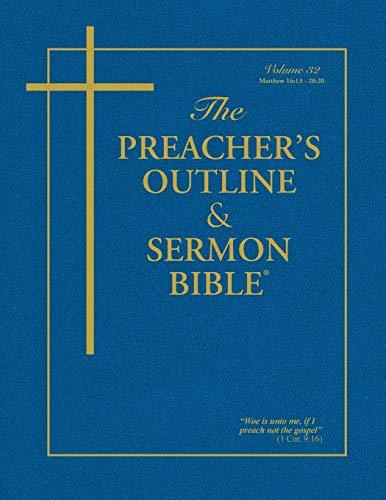 9781574070026: The Preacher's Outline & Sermon Bible: Matthew Vol. 2 (Preacher's Outline & Sermon Bible-KJV)
