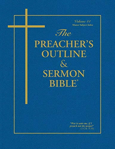 The Preacher's Outline & Sermon Bible: Master: Leadership Ministries Worldwide