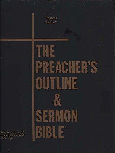 9781574070323: Preacher's Outline & Sermon Bible-KJV-Romans