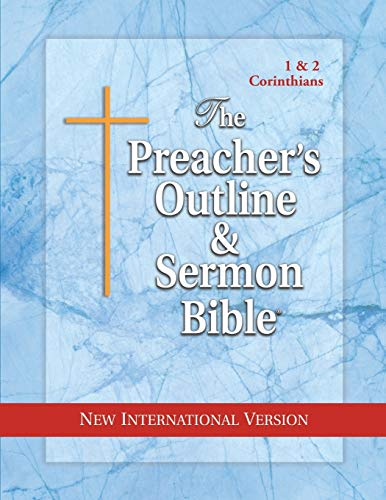 9781574070835: The Preacher's Outline & Sermon Bible: 1 & 2 Corinthians: New International Version (Preacher's Outline & Sermon Bible-NIV)
